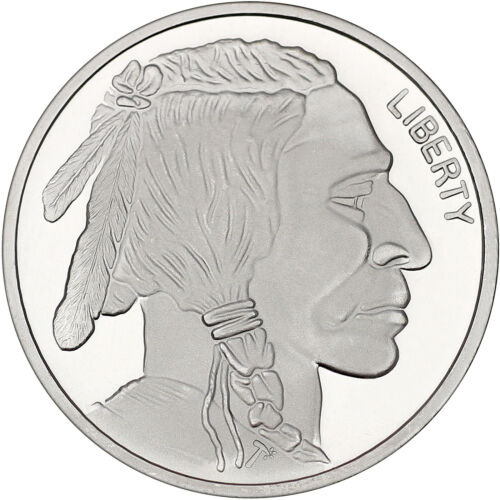 Buffalo by SilverTowne 1 oz .999 Silver Medallion 3 pc