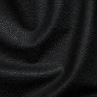 Kunstleder Lederimitat Polsterstoff Meterware Bezugsstoff geprüft  schwarz Kunstleder