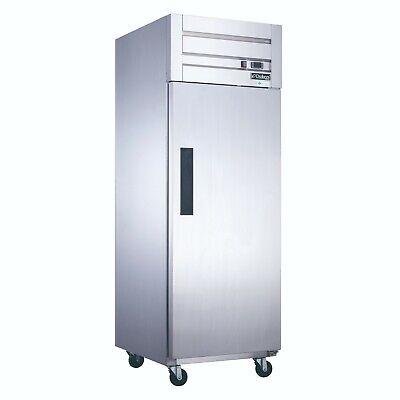 New 1 Door Reach In Freezer Stainless Steel Dukers D28af 2021 Nsf Solid Door