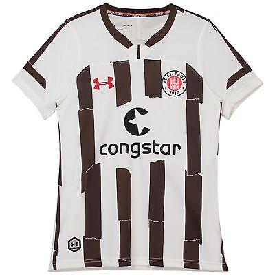 Offiziell St Pauli Auswärts Shirt Fußball Trikot 2018/19 Kinder Under Armour