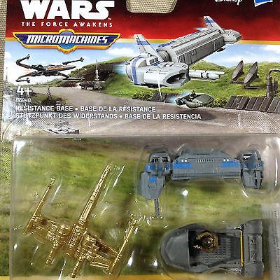 STAR WARS MICRO MACHINES Resistance Base Gold Series Set BNIB