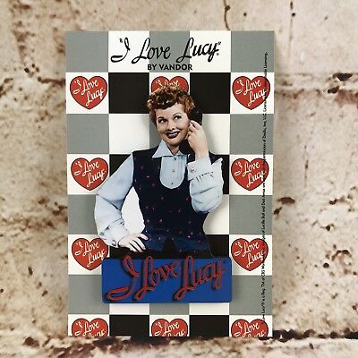 Kitchen Fridge Magnet I love Lucy Telephone Phone Die Cut Out  Vandor Nostalgic
