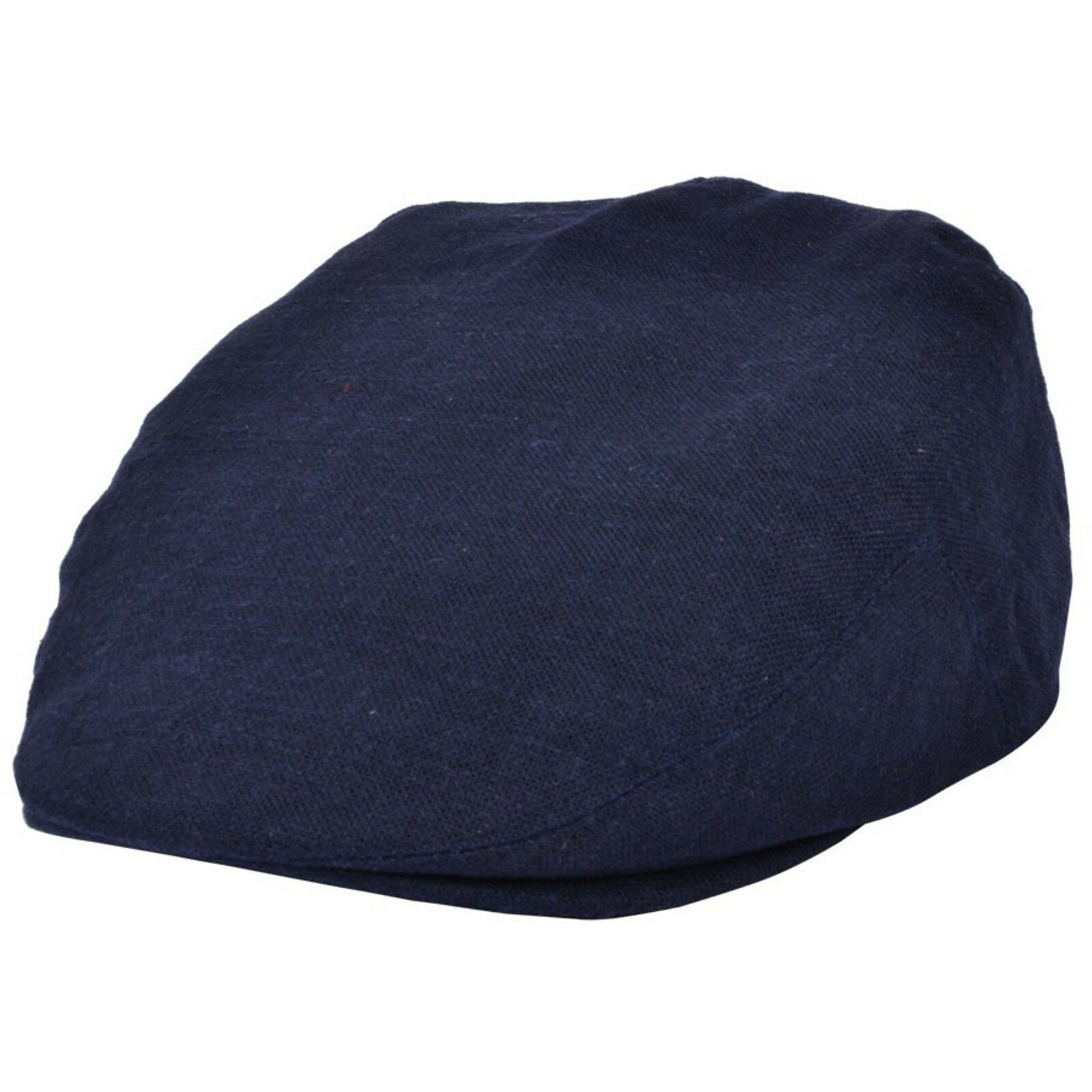 Adults Lightweght  Linen Summer Flat Cap Hat