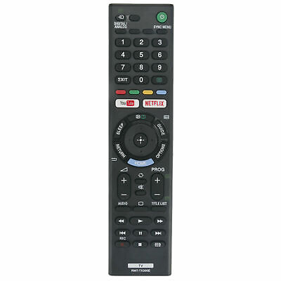 Replacement Remote Control for SONY BRAVIA TV Model KD-49XF7093