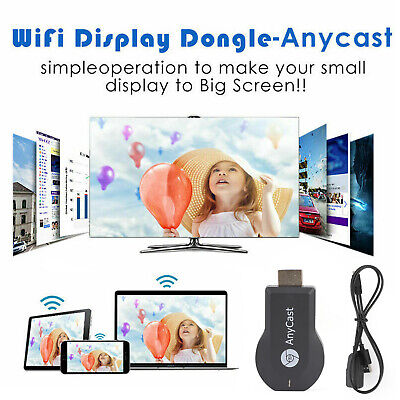 AnyCast M4 Plus HDMI Media Player Cast Stick WIFI Display Receiver Dongle A6