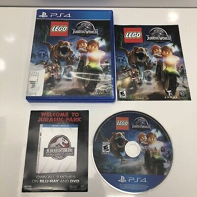 LEGO Jurassic World (PS4 PlayStation 4, 2015) Very good Condition