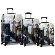 Rolite New York 3-Piece Lightweight Spinner Luggage Set