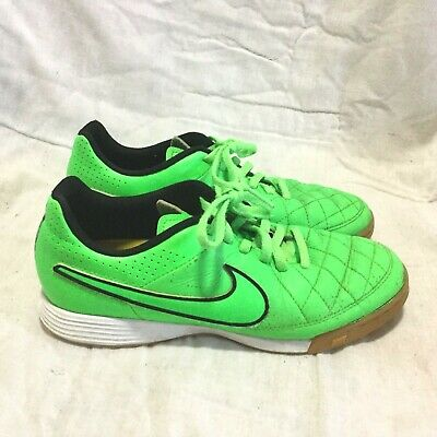 fb62d24e2d6 NIKE TIEMPO INDOOR SOCCER SHOES   MULTI COLOR ( SIZE 4.5Y ) YOUTH
