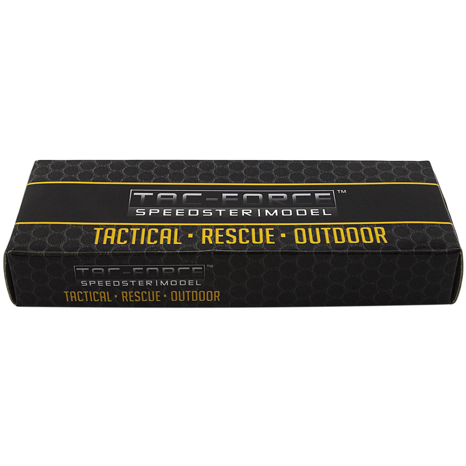 Купить Tac-Force - 6.5 TAC FORCE SPRING ASSISTED TACTICAL FOLDING POCKET KNIFE Blade Assist Open