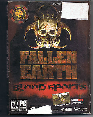 Fallen Earth  Blood Sports   Pc  2010  With 60 Day Free Online Trial Not 30