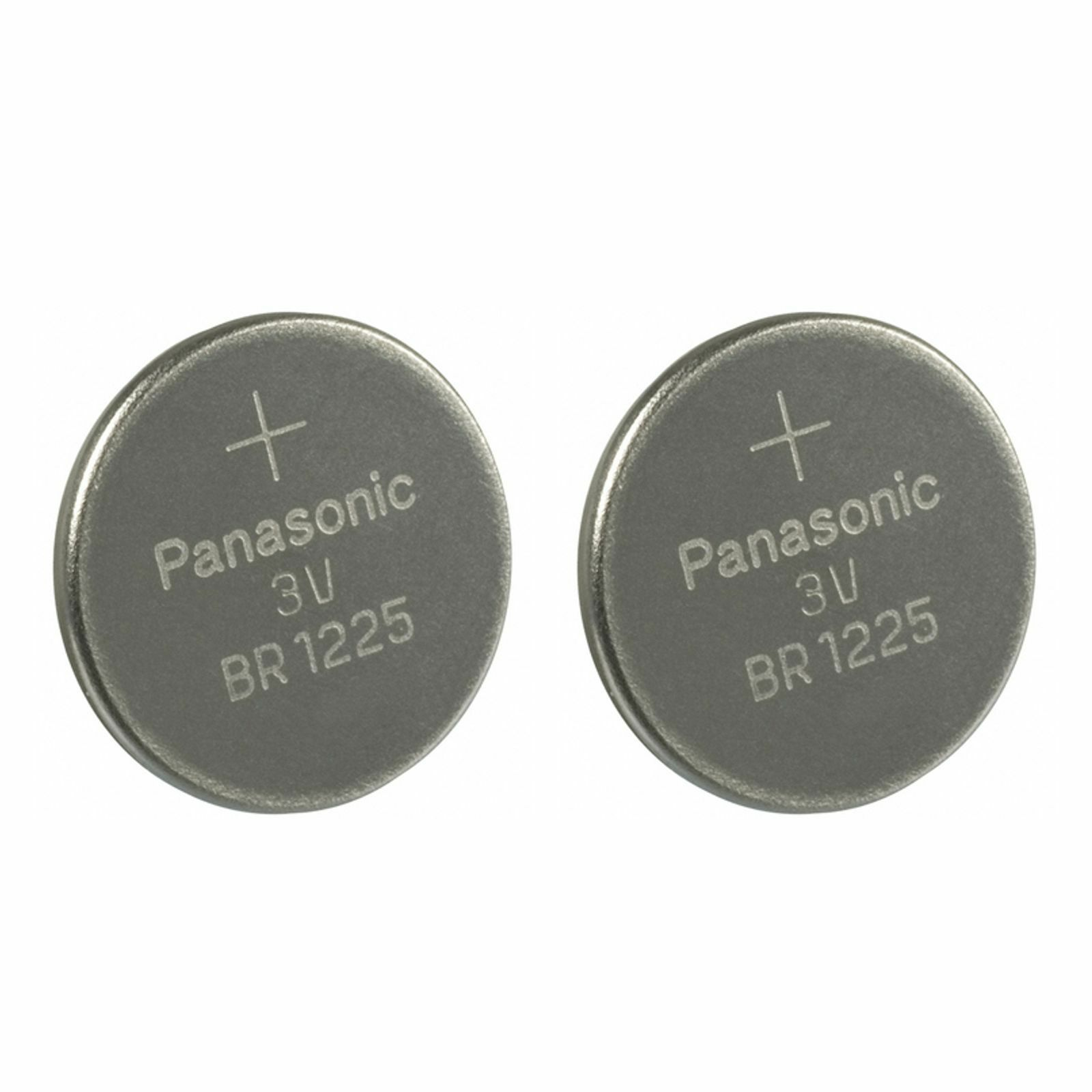 2 PANASONIC BR1225 EBR1225 CR1225 3v battery Exp.2027