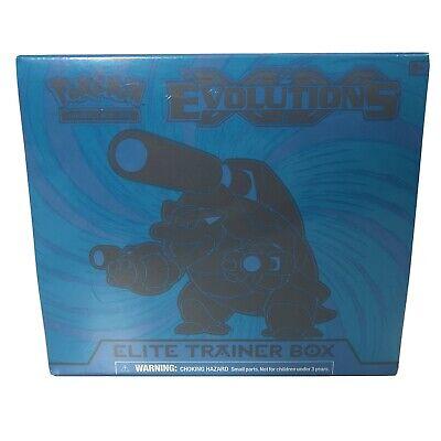 Pokemon XY Evolutions Elite Trainer Box ETB | Blastoise | New and Sealed