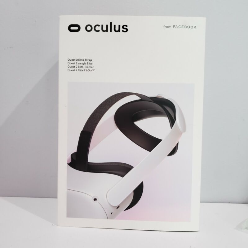 Oculus Quest 2 Elite Strap for Enhanced Support and Comfort in VR ✈ SHIPS FAST ✈