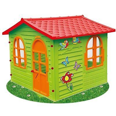 XXL Riesiges SPIELHAUS für Kinder Kinderhaus Bunt Gartenhaus Kinderspielhaus