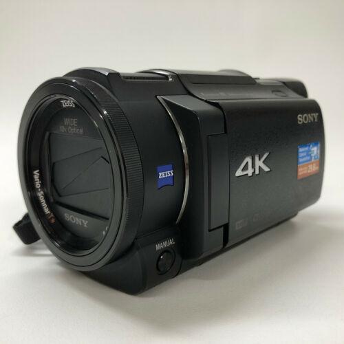 Sony Handycam FDR-AX33 Camcorder - Black