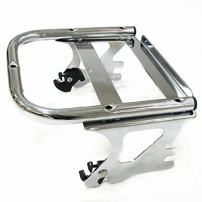 Detachable Two-up Tour Pak Pack Mounting Luggage Rack For Harley Touring 97-08