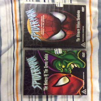 2x Spider-Man Cartoon DVDs Redland Bay Redland Area Preview