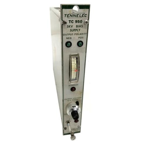 Tennelec TC-950 5KV Bias Supply Nim Bin Module