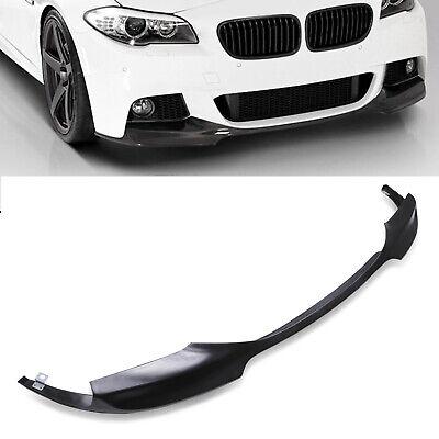 FRONT BUMPER LOWER LIP CHIN SPLITTER SPOILER VALANCE FOR BMW 5 SERIES F10 12-15