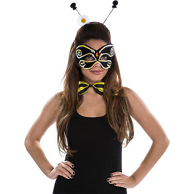 Unbranded Women's Adult Bee Halloween Costume Accessories Kit