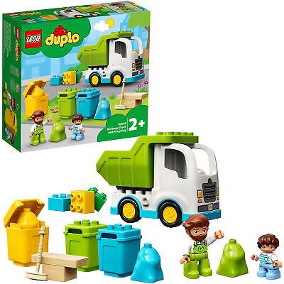 LEGO DUPLO Müllabfuhr und Wertstoffhof, Konstruktionsspielzeug