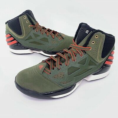 Adidas Adizero Rose 2.5 NEW with box Size 12 (Feng colorway) Green