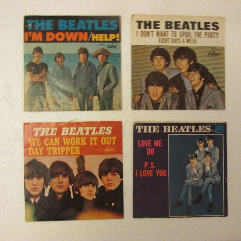 Beatles VTG Sleeves 45