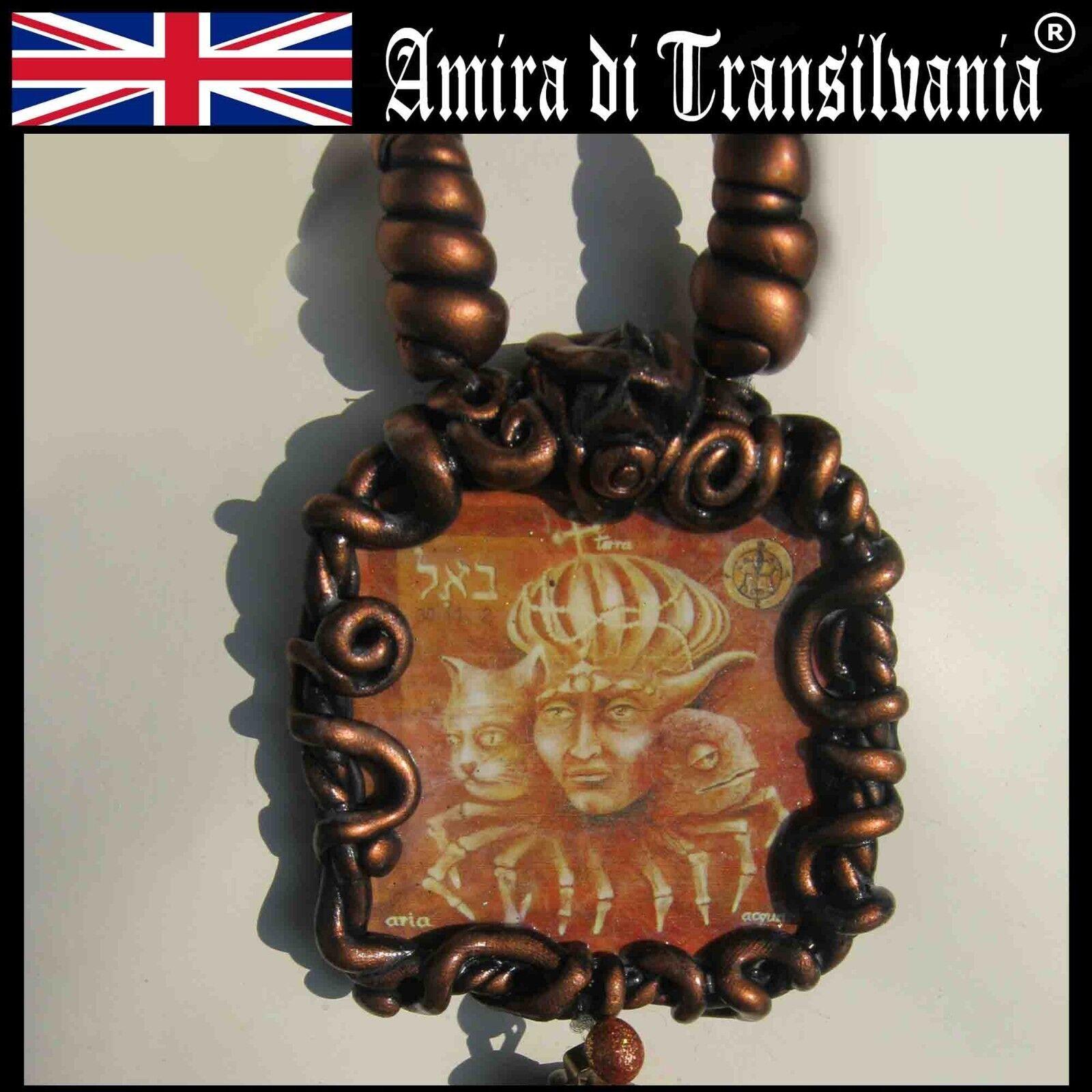 Bael demon Goetia Lemegeton paganism occult old amulets talisman effective power