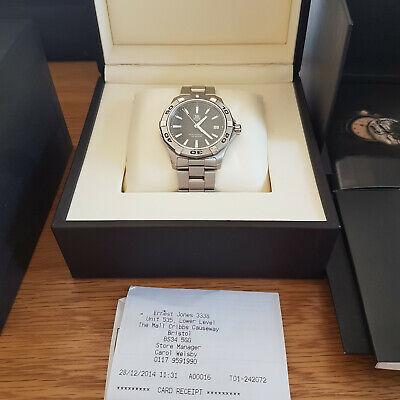 Tag Heuer Aquaracer WAP1110 WAP 1110 Mens quartz watch