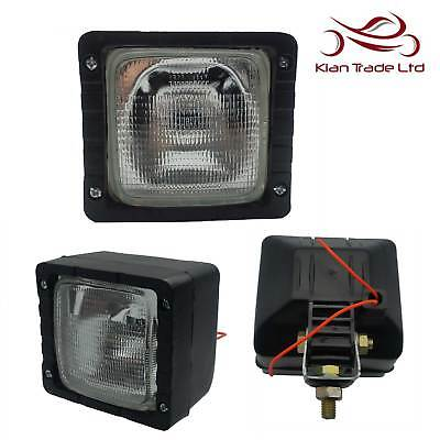 Jcb Lights 4x4 Tractor Digger Worklamp Forklift Truck Spotlight Work Lamp Massey