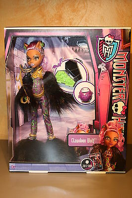 Monster High - Clawdeen Wolf - Fiesta Divina de la Muerte - Halloween - New - Monster High Halloween Wolf Doll