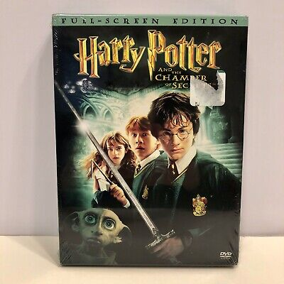 NEW Harry Potter and the Chamber of Secrets (DVD, 2002) Full-Screen Edition