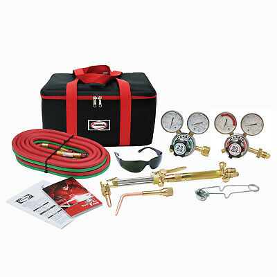 Harris Victor Compatible Ironworker Vhd 510 Oxy Acetylene Cutting Torch Outfit