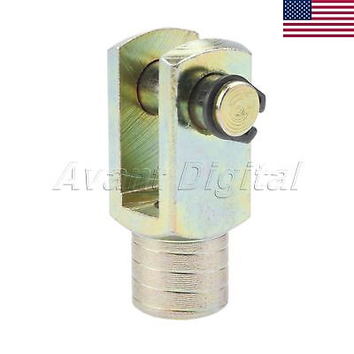 Us M10x1.25 Thread Cylinder Rod Clevis End Y Joint For 32mm Bore Air Cylinder