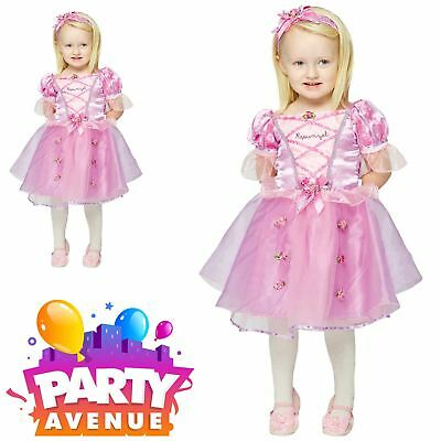 cess Rapunzel Deluxe Baby Toddler Fancy Dress Costume (Deluxe-baby Kostüme)