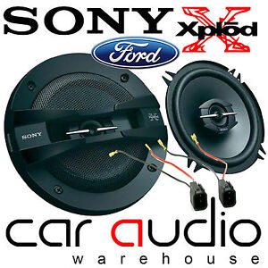 FORD TRANSIT CONNECT PRE 2012 460 Watts Pair Sony 13cm 3 Way Front Door Speakers
