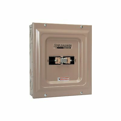 Reliance Generator Transfer Switch-100 Amp 240v Tca1006d