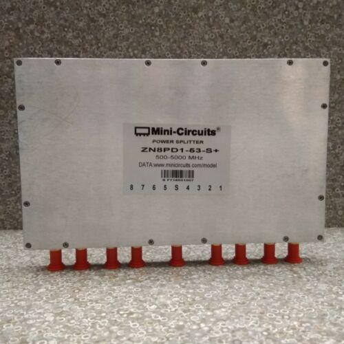 MINI-CIRCUITS ZN8PD1-53-S+: POWER SPLITTER COMBINER 500-5000 MHz SMA 8 Way