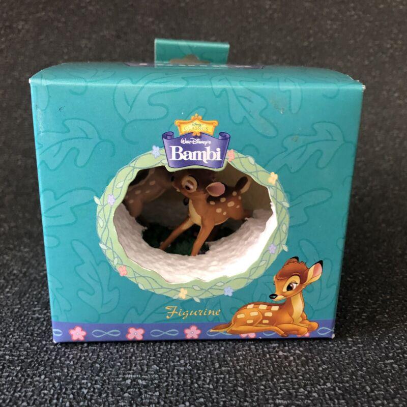 Walt Disney Classics Enesco Bambi and Faline Figurine Deer New In Box