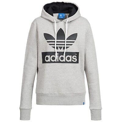 Adidas Originals Trefoil Hoody (Adidas Sweatshirt Damen Kapuzenpullover Hoodie originals Trefoil Hoody - NEU)