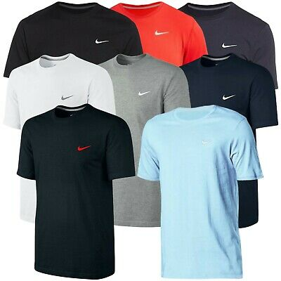 Nike Mens T Shirt Gym Cotton Sports Crew Neck Jogging Casual Tee Top Sizes