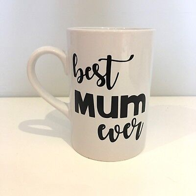 BEST MUM EVER Vinyl Decal Sticker ONLY -  Ideal For DIY Mother's Day