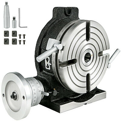 8 Precision Horizontal And Vertical Rotary Table