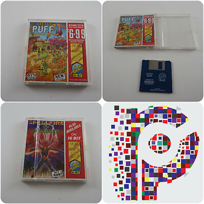 Little Puff A Code Masters Game for the Atari ST Computer tested & working