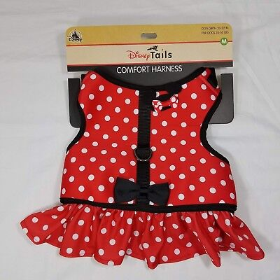 Disney Parks Tails Minnie Mouse Costume Harness for Dog M Medium New ](Mouse Costume For Dog)