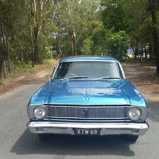 1969 FORD FALCON XT FAIRMONT WAGON Molendinar Gold Coast City Preview