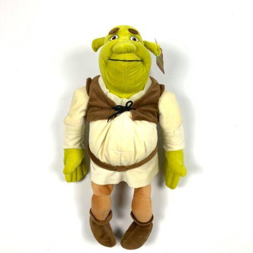 "Nanco Shrek 2 Dreamworks Authentic Ogre Plush Stuffed Animal Toy 2004 20"""