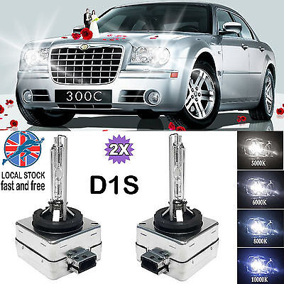 PAIR D1S HID XENON OEM REPLACE HEADLIGHTS BULBS ALL COLORS FOR CHRYSLER 300 C UK