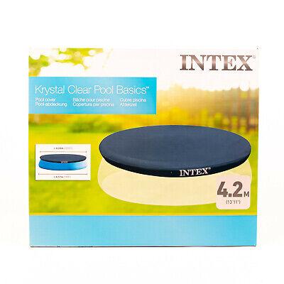 Intex 28023 Cubierta para Piscina Lona Para Fácil Pool 457CM Azul Nuevo