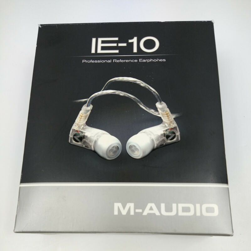 M-Audio IE-10 Professional Reference In-Ear Monitors OOP, Hard to find
